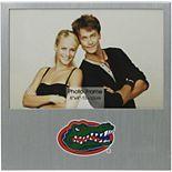 """Florida Gators 4"""" x 6"""" Aluminum Picture Frame"""