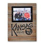 "Kansas Jayhawks 11"" x 14.5"" Wood Frame"