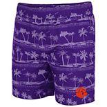 Men's Colosseum Purple Clemson Tigers Maui Swim Shorts