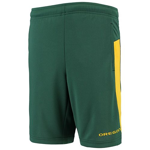 Youth Green Oregon Ducks Grand Mesh Shorts