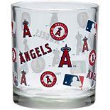 Los Angeles Angels 8.45oz. Full Wrap Rocks Glass