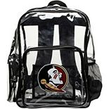 The Northwest Florida State Seminoles Dimension Clear Backpack