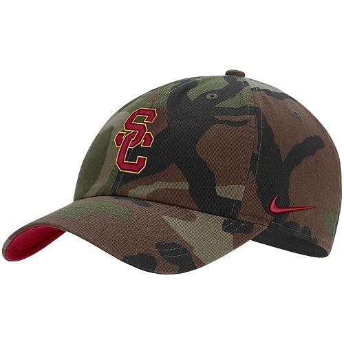 Men's Nike Camo USC Trojans Heritage 86 Adjustable Hat