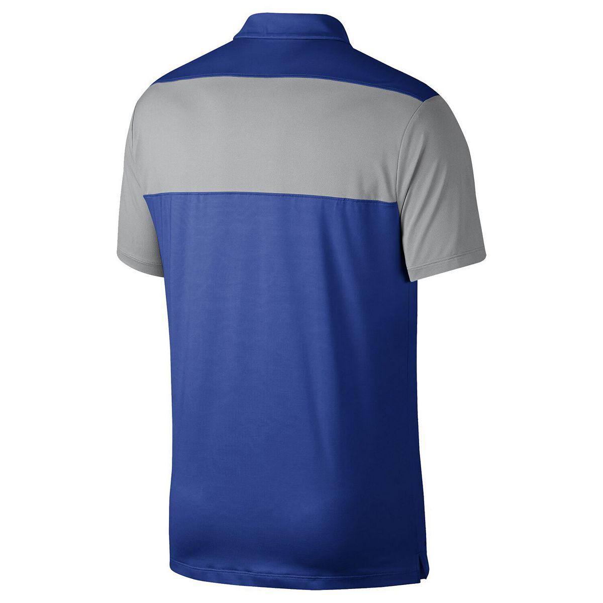 Kentucky Wildcats Nike Colorblock Polo - Royal rCqgq
