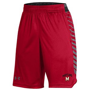 Youth Under Armour Red Maryland Terrapins MK-1 Performance Shorts