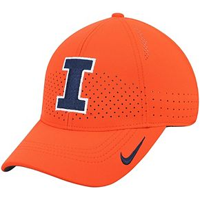 Youth Nike Orange Illinois Fighting Illini Sideline Coaches Legacy 91 Performance Adjustable Hat