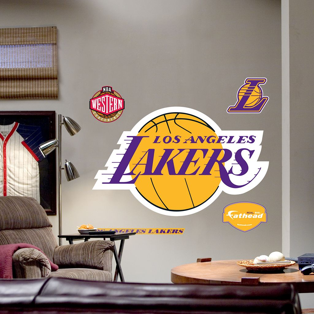 Fathead® Los Angeles Lakers Logo Wall Decal