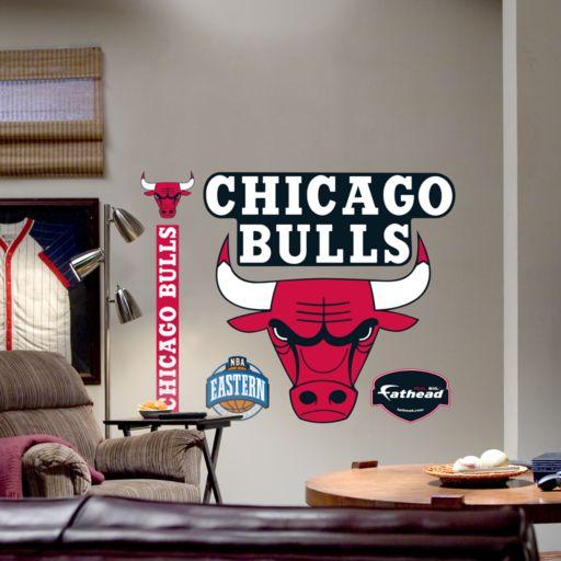Fathead Chicago Bulls Logo Wall Decal