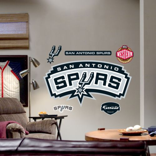 Fathead San Antonio Spurs Logo Wall Decal