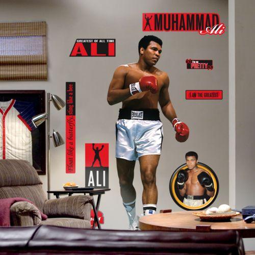 Fathead Muhammad Ali Wall Decal