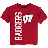 Toddler Red Wisconsin Badgers Big & Bold T-Shirt