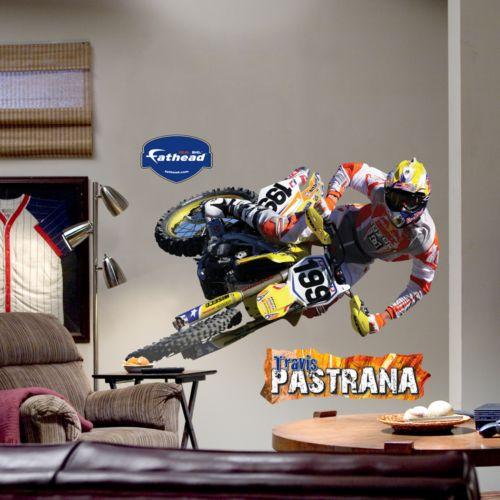 Fathead Travis Pastrana Action Wall Decal