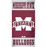 "WinCraft Mississippi State Bulldogs 30"" x 60"" Team Logo Spectra Beach Towel"