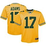 Youth Nike Davante Adams Gold Green Bay Packers Inverted Game Jersey