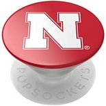 PopSockets Nebraska Cornhuskers Scarlet Swappable PopGrip