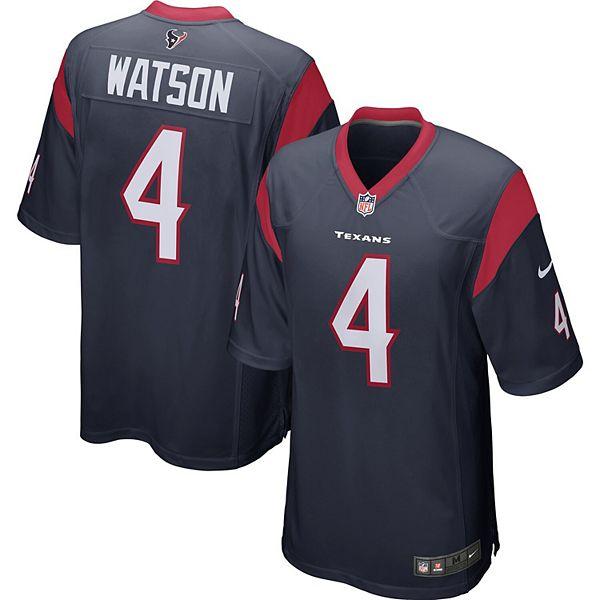 Deshaun Watson Houston Texans Nike Player Game Jersey Navy
