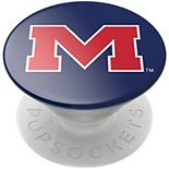 PopSockets Ole Miss Rebels Navy Swappable PopGrip