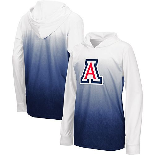 Youth Colosseum Navy Arizona Wildcats Magic Long Sleeve Hooded T-Shirt