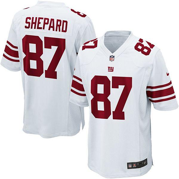 Men's Nike Sterling Shepard White New York Giants Game Jersey
