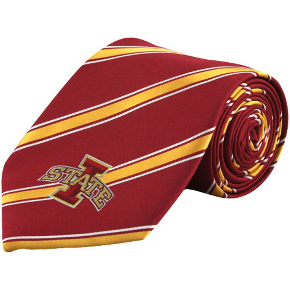Men's Iowa State Cyclones Woven Poly Tie