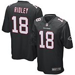 Men's Nike Calvin Ridley Black Atlanta Falcons Game Jersey