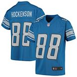 Youth Nike T.J. Hockenson Blue Detroit Lions Game Jersey