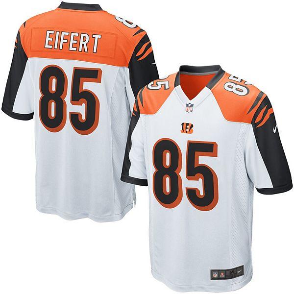 Men's Nike Tyler Eifert White Cincinnati Bengals Game Jersey