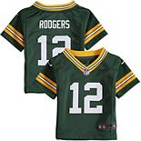 Infant Green Bay Packers Aaron Rodgers Nike Green Team Color Game Jersey