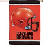 """WinCraft Cleveland Browns 28"""" x 40"""" Two-Sided Vertical Flag"""