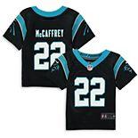 Infant Nike Christian McCaffrey Black Carolina Panthers Player Game Jersey