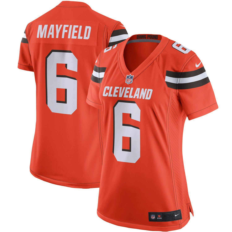 women's cleveland browns jersey