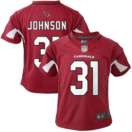 Toddler Nike David Johnson Cardinal Arizona Cardinals Game Player Jersey