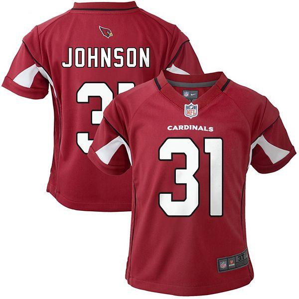 Toddler Nike David Johnson Cardinal Arizona Cardinals Game ...