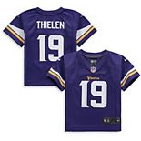 Toddler Nike Adam Thielen Purple Minnesota Vikings Player Game Jersey