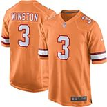 Youth Nike Jameis Winston Orange Tampa Bay Buccaneers Alternate Game Jersey