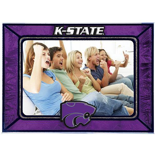 Kansas State Wildcats Horizontal Art Glass Frame