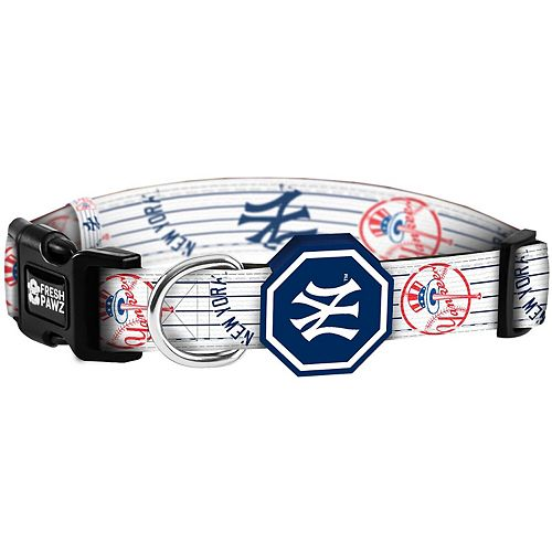 New York Yankees Fresh Pawz Pet Collar