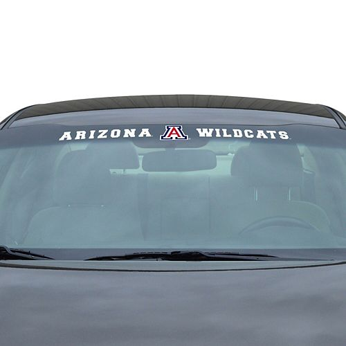 "Arizona Wildcats 34"" Vinyl-Coated Windshield Decal"