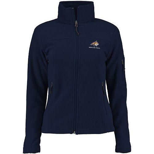 Women's Columbia Navy Montana State Bobcats Give & Go Full-Zip Jacket
