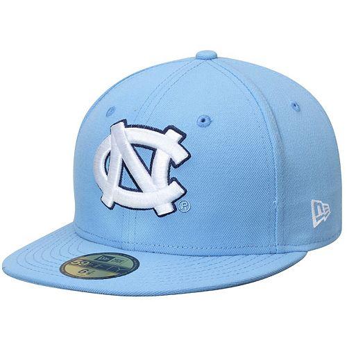 Men's New Era Carolina Blue North Carolina Tar Heels Basic 59FIFTY Fitted Hat