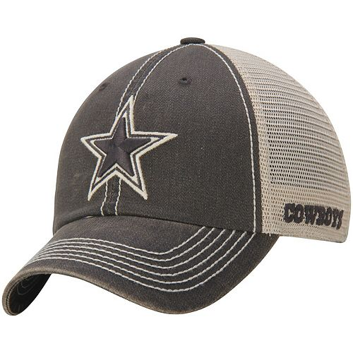 Men's Natural/Charcoal Dallas Cowboys After The Game Adjustable Hat