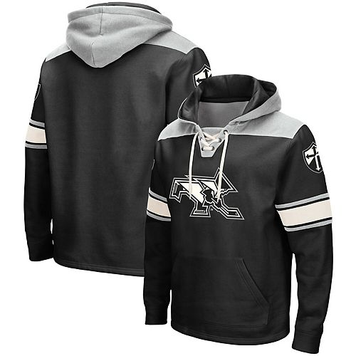 Men's Colosseum Black Providence Friars 2.0 Lace-Up Hoodie