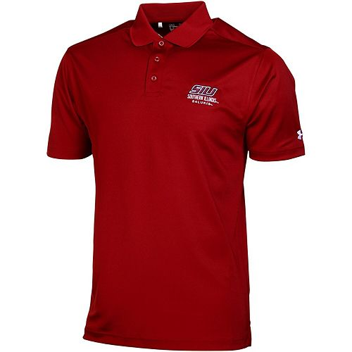 Southern Illinois Salukis Under Armour Solid Performance Polo - Cardinal