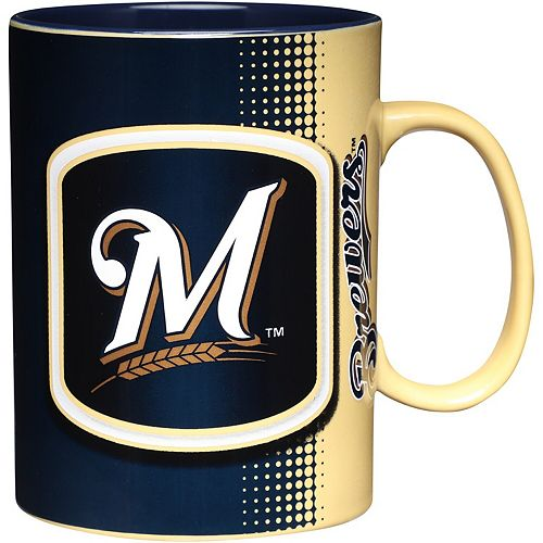 Milwaukee Brewers 32oz. Ceramic Mug