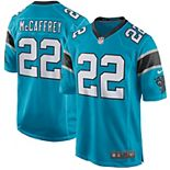 Youth Nike Christian McCaffrey Blue Carolina Panthers Game Jersey