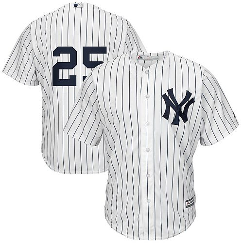Men's Majestic Gleyber Torres White New York Yankees Official Cool Base Jersey