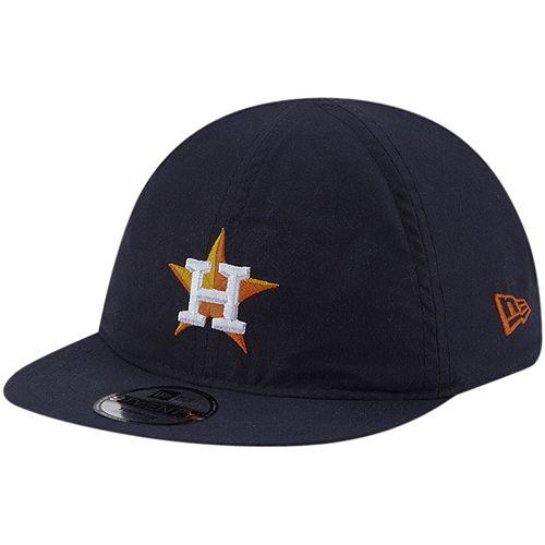 Toddler New Era Navy Houston Astros Top Flip Reversible 9TWENTY Stretch Fit Hat