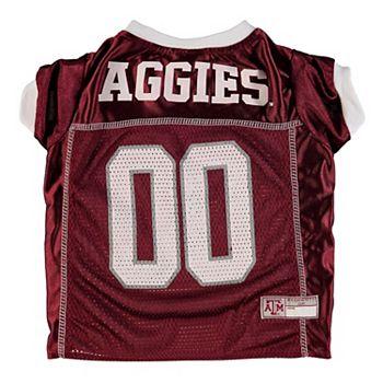 hot sales 9309a 43725 Texas A&M Aggies Mesh Dog Football Jersey