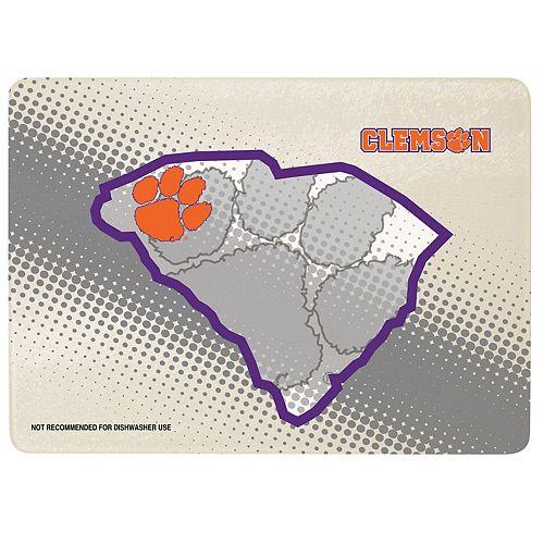 "Clemson Tigers 8"" x 11.75"" State of Mind Cutting board"