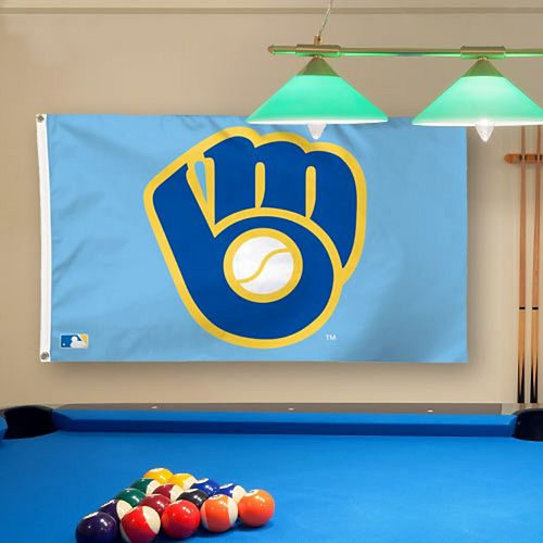 WinCraft Milwaukee Brewers Deluxe 3' x 5' Flag